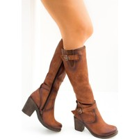 Fox Shoes Taba Kadın Çizme C674250109