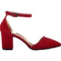 Fox Shoes Kırmızı Kadın Topuklu Ayakkabı D922676702