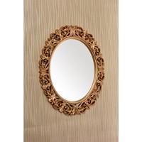 Çelik Ayna CLK886 Dekoratif Oval Ayna Boyalı