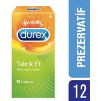Durex Tahrik Et Tırtıklı Prezervatif 12'li