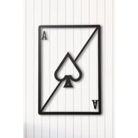 Angemiel Home Poker As Metal Duvar Tablosu Ev Ve Ofis Dekorasyonu Tablo