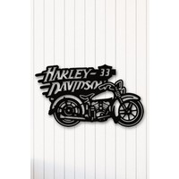 Angemiel Home Harley Motor Metal Duvar Tablosu Ev Ve Ofis Dekorasyonu Tablo