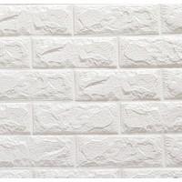 Bellagente Freewall Kendinden Yapışkanlı Esnek Yastık Duvar Paneli Beyaz 70X77 Cm 8,5 Mm