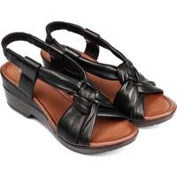 Gön Deri Kadın Sandalet 45118