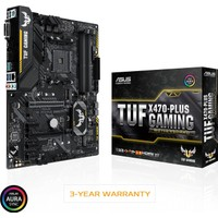 Asus TUF X470-PLUS Gaming AMD X470 3200MHz DDR4 Soket AM4 ATX Anakart