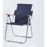 Joystar Ahşap Kollu Katlanabilir Kamp Sandalyesi