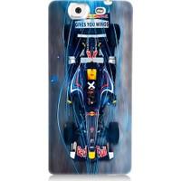 Teknomeg Casper Via V8 F1 Red Bull Desenli Tasarım Silikon Kılıf