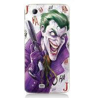 Teknomeg General Mobile Discovery 2 Mini Joker Desenli Tasarım Silikon Kılıf