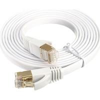 Alfais 4256 Cat7 Ethernet RJ45 Modem İnternet Kablosu 1 Metre 10Gbps 600Mhz