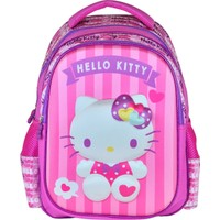 Hakan Çanta Hello Kitty 3D İlkokul Sırt Çantası - Hakan Çanta 95296