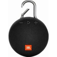 JBL Clip 3 IPX7 Su Geçirmez Taşınabilir Bluetooth Hoparlör Siyah