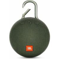 JBL Clip 3 IPX7 Su Geçirmez Taşınabilir Bluetooth Hoparlör Yeşil
