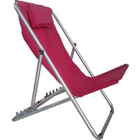 Depolife Ayarlanabilir Plaj Balıkçı Balkon Teras Çim Bahçe Sandalye Koltuk Şezlong
