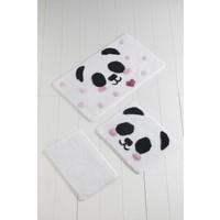 Chilai Home Panda 3'lü Banyo Takımı Seti