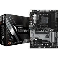 Asrock B450 PRO4 AMD B450 3200MHz DDR4 Soket AM4 Anakart (ASRB450-PRO4)