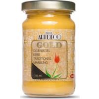 Artdeco Gold Geleneksel Ebru Boyası 105Ml - 990 Altın