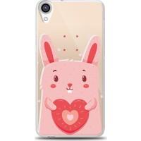 Eiroo HTC Desire 820 Bunny Baskılı Tasarım Kılıf