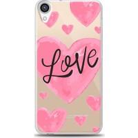Eiroo HTC Desire 820 Love Hearth Baskılı Tasarım Kılıf