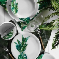 Kütahya Porselen 10150 Desen 24 Parça Yemek Takımı