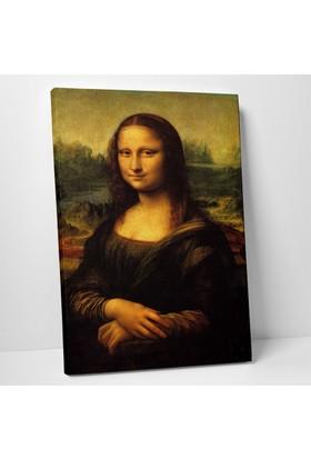 Leonardo Da Vinci Mona Lisa Kanvas Tablo 20 x 30 cm