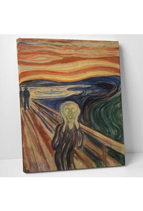 Edvard Munch Çığlık Kanvas Tablo 30 x 40 cm