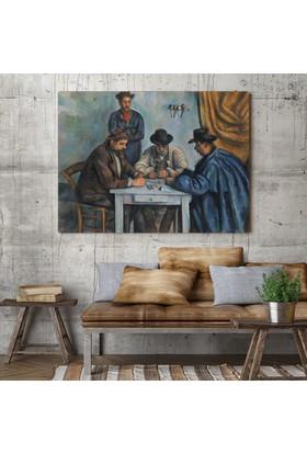 Paul Cezanne Kağıt Oynayanlar Kanvas Tablo 40 x 30 cm