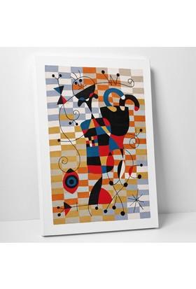 Joan Miro Joan Miro Palyaço Kanvas Tablo 20 x 30 cm