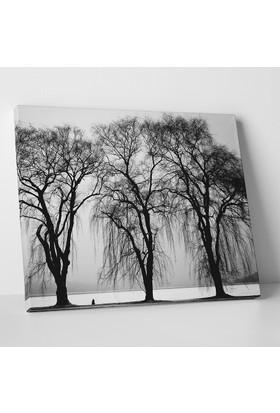 Anonim Kış Manzarası Kanvas Tablo 40 x 30 cm