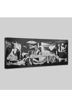 Pablo Picasso Guernica Kanvas Tablo 75 x 150 cm