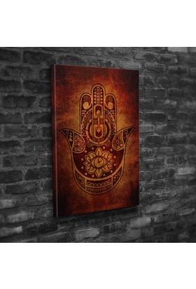 Mâbeyn Stüdyo Fatma Ana Eli Kanvas Tablo 30 x 45 cm