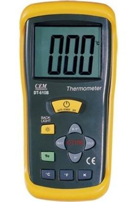 Cem Dt 610B Tek Girisli Termometre
