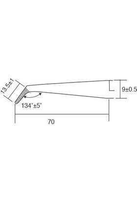 Proskit 1Pk-117T Cımbız Sıkıştırmalı Eğik Ağız 160Mm