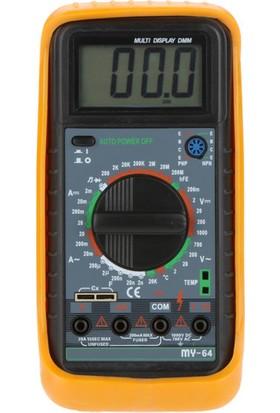 Tt T-Echnı-C My 64 Dijital Multimetre