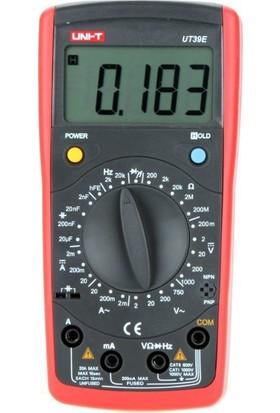 Unı-T Ut 39E Dijital Multimetre Ut39E