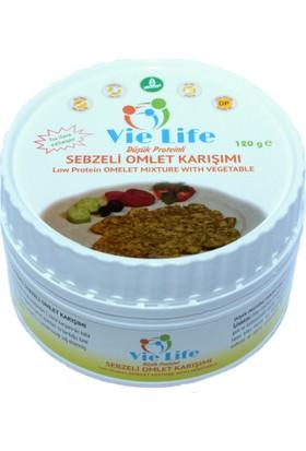 Vie Life 120 gr Düşük Proteinli Sebzeli Omlet Karışımı