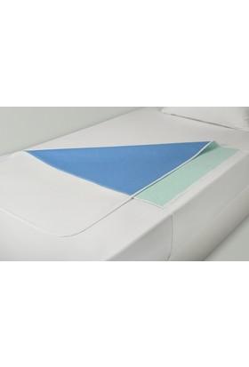 Akomp Eco Design 4 Katlı Sıvı Geçirmez Yıkanabilir Emici ve Koruyucu Ped Kanatlı 075x085