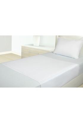 Akomp Anti Bakteriyel Sıvı Geçirmez Havlu Yatak Koruyucu Hasta Altı Bezi Beyaz Kanatsız 090x090