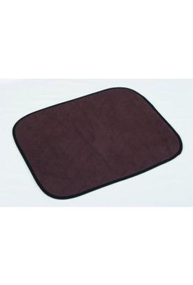 Akomp Sıvı Geçirmez Yıkanabilir Tekerlekli Sandalye Pedi Kahve 050x060