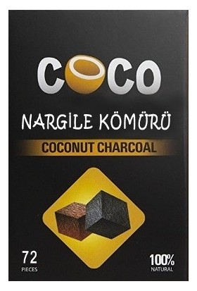 Coco Hindistan Cevizi Kömürü - Nargile Kömürü 1 KG