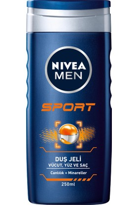 Nivea Men Sport Erkek Duş Jeli 250 ml