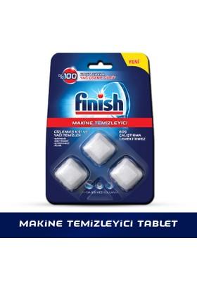 Finish Bulaşık Makinesi Deterjanı Makine Temizleyici Tablet 3'lü