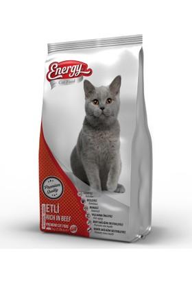 Cat Food Energy Etli Yetişkin Kedi Maması - 500 g
