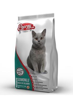 Cat Food Energy Somonlu Yetişkin Kedi Maması - 500 g