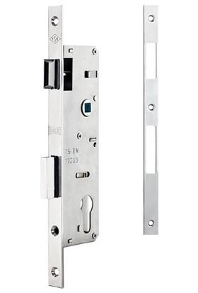 Kale 153/P Pvc Doğrama İçin Silindirli Kapı Kilidi - Krom 35 Mm Barelsiz