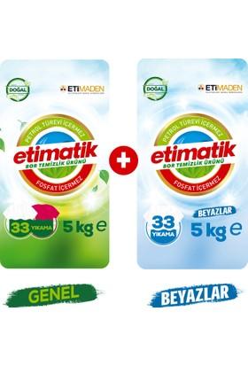 Eti Matik Genel 5 kg + Etimatik Beyazlar 5kg