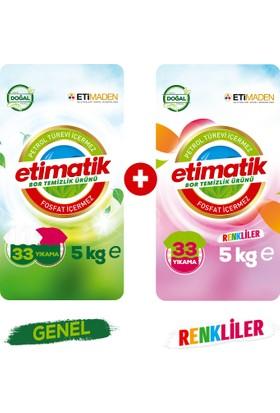 Etimatik Genel 5 Kg + Renkliler 5 Kg