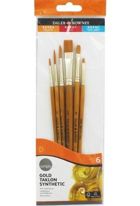 Daler Rowney Fırça Seti 6Lı Set1 216920600