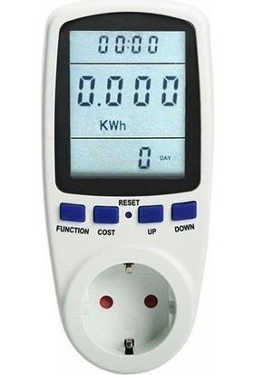 Enerji Tüketim Sarfiyat Ölçer Priz - Wattmetre