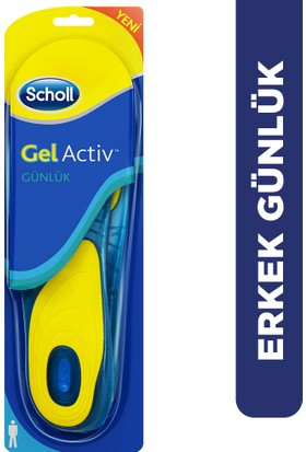 Scholl GelActiv Ayakkabı Tabanlığı - Erkeklere Özel (40-46,5)