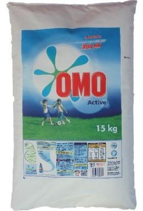 Omo Matik Çamaşır Deterjanı Active Toz 15 Kg